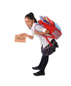 How Heavy School Bags Can Affect Posture
