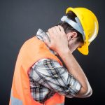construction worker treated by our Ealing Chiropractor
