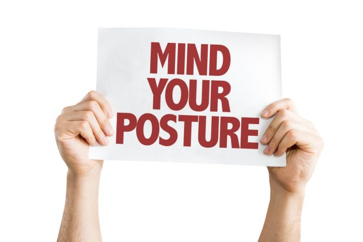 posture impropvement advice from our ealing chiropractor